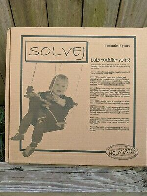 Solvej Baby and Toddler swing for 6mths to 6 years