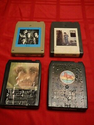 Lot 4 8 Track Tapes Bread Billy Joel George Harrison Christopher Cross TESTED