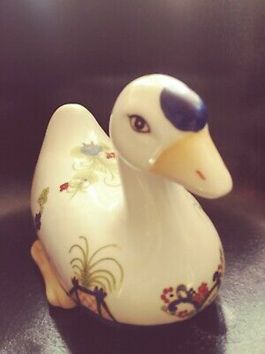 Large Ceramic Hand Painted Duck