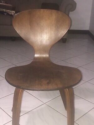 Norman Cherner Eames Era Mid Century Wood Chair