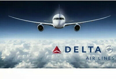 50$ Delta Airlines Gift card 22% Off Email/physical Delivery Only!