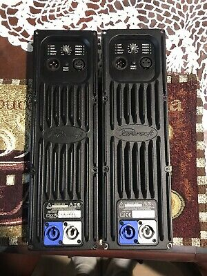 Pair Of powersoft Dcell504 Module  amplifiers