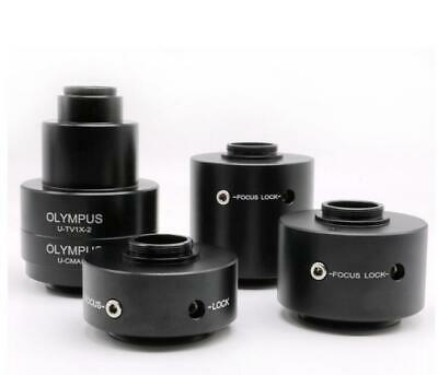 Camera Adapter for Olympus Trinocular Stereo Microscope 1X 0.5X 0.35X 0.63X