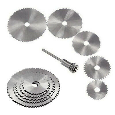 Circular HSS Wood Cutting Saw Blade Discs With 1 Mandrels Drill For Rotary Tool