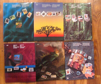A DEAL #5 // Canada Post souvenir Collection 1989 to 1994 - In perfect condition