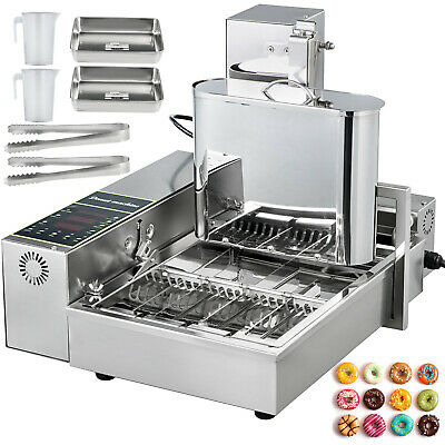Automatic Donut Maker Machine Automatic Donut Maker 4-Row Commercial Donut Maker