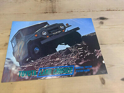 1968 Land Cruiser Toyota Salesroom Brochure