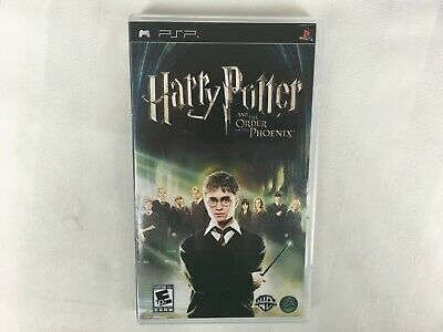 PSP Harry Potter And The Order of The Phoenix Sony PlayStation Portable