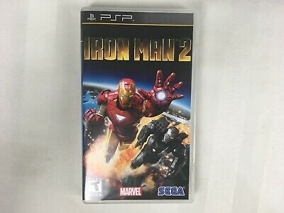 PSP Iron Man 2 Sony PlayStation Portable