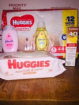 Huggies Bundle with diapers, wipes & more!