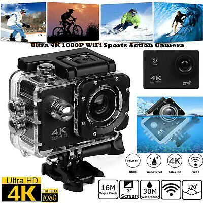 HD 1080P Ultra 4K  WIFI Waterproof Camcorder Sport Action Camera DVR camcorder
