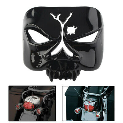 Tail light TailLamp Cover Zombie Skull for Harley Street Glide Road King Softail