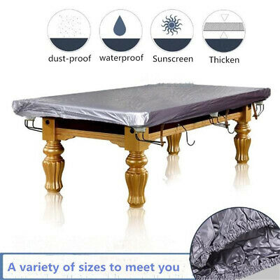 Heavy Duty Dustproof Waterproof Billiard Table Cover Full Pool Accessories PVC