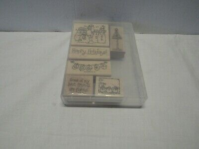 Stampin Up  Merry Christmas 6 stamps