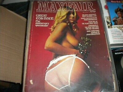 MAYFAIR 100th Issue Xmas 1974 VG Intact