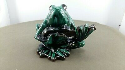 Evangeline Pottery Guitar Playing Frog