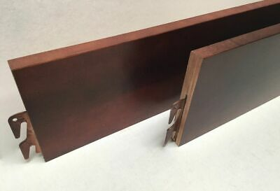 """BH101-Cherry 82"""" Queen/King Bed Rails"""