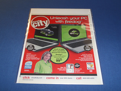 2007 Circuit City 38 Page Unread Department Store Catalog | Buy 2! Get 1 Free!