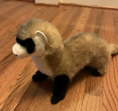 Douglas cuddle toy, plush soft toy FERRET with cloth tag preowned great shape