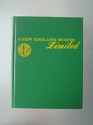 Ners The New England States Limited Railroad Book Vol. 1 To 4  1977