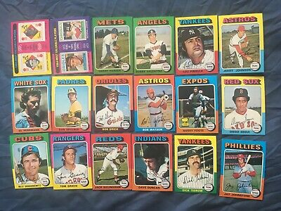 1975 Topps Mini Series 189-399 Pick Cards You Want Nm-Mint