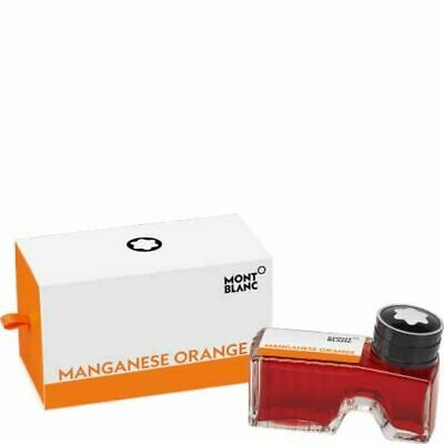 Montblanc 119568  Ink Bottle Orange Manganese - Inchiosto Arancio 60 Ml