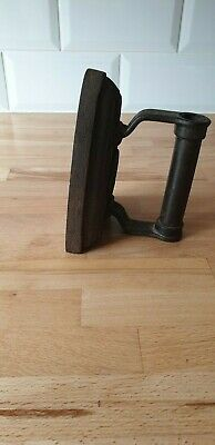 "Vintage Victorian 6"" Cast Flat Iron 6/100k - VIntage/Antique"