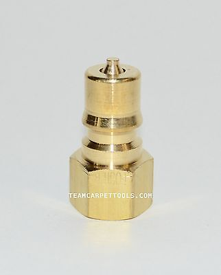 """Carpet Cleaning FOSTER 1/4"""" Brass Quick Disconnect Male QD Truckmount Extractor"""