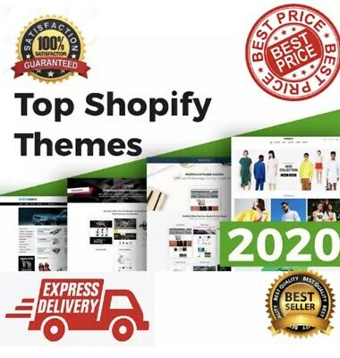 50 Best Premium Shopify Themes ⭐ 2020 Updated 🔥 Instant Delivery