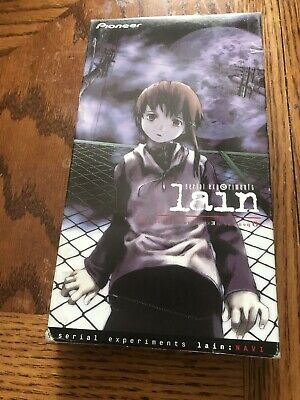 Serial Experiments Lain (1998 dubbed) 100 min VHS