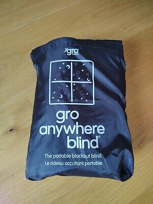 The Gro Company Gro Anywhere Blind Portable Blackout Blind With Suction Cups