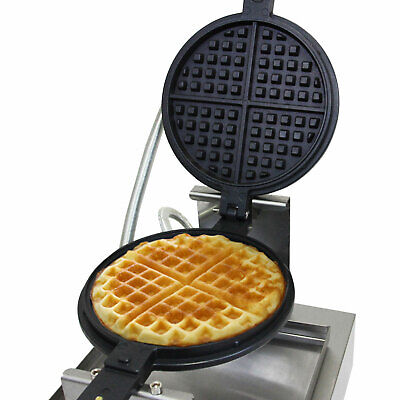 Waffle Maker Commercial Catering Plate Waffle Iron Machine FREE WAFFLE TONGS