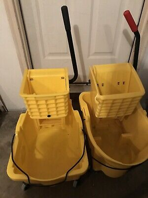 Rubbermaid Mop Buckets Bundle.