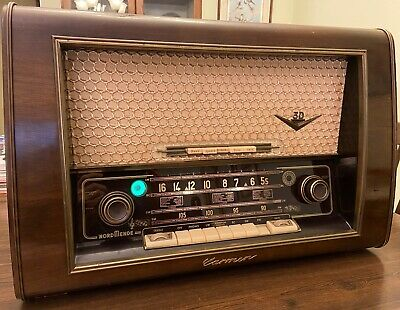 Nordmende Carmen 56 Radio in Working Condition with Documentation