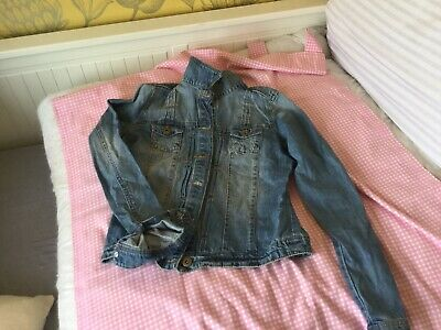 Tammy Girl Fitted Denim Jacket Age 12-13 Yrs