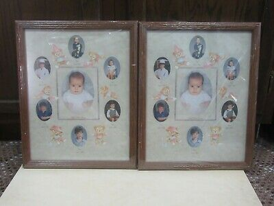 """Baby Collage Frames - 15"""" x 12"""" - Set of two - wooden"""