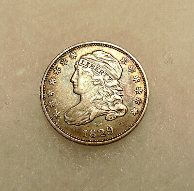 1829 Capped Bust Dime - Sharp Looking Coin - FREE SHIPPING