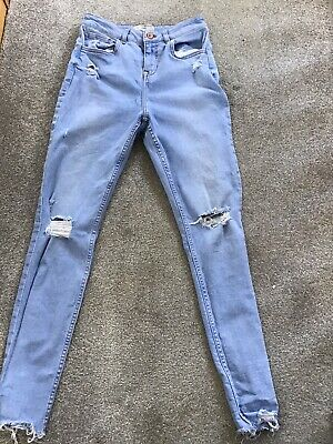 Girls Light Blue New Look 915 Jeans Age 15
