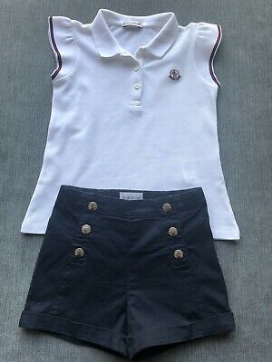 Moncler Girls Summer Outfit Age 4 Fits Age 3 Immaculate