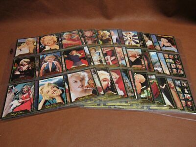 Complete 100 Card Marilyn Monroe 2 II Set + Promo Card 1995 Sports Time
