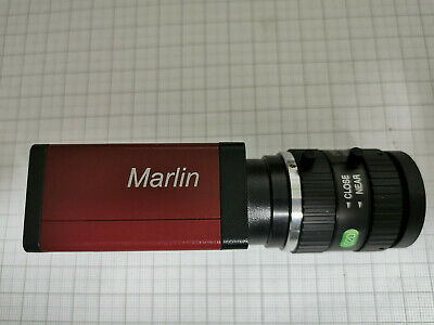 camera  marlin F-033B Allied Vision Technologie mit Objektiv