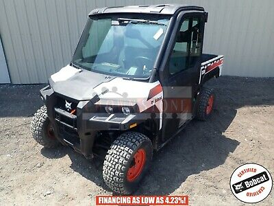 2013 Bobcat 3600 Utv Cab Heat/Ac 4X4 Hydrostatic Hyd Dump Bed 265 Hours 24 Hp