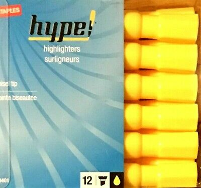Staples Hype Highlighters 12 Pack