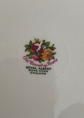Royal Albert Old Country Rose Afternoon Tea  Serving Plate