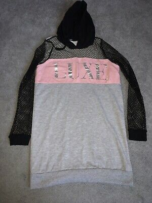 Girls Long Hoodie Age 12-13 Years From Select