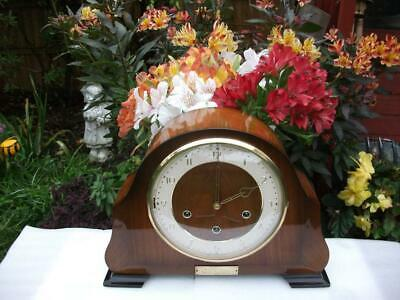 Smiths Superb 8 Day Westminster Chiming Mantel Clock. 1959. Fully Overhauled.