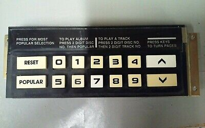 Rowe/Ami Selection Button Assembly