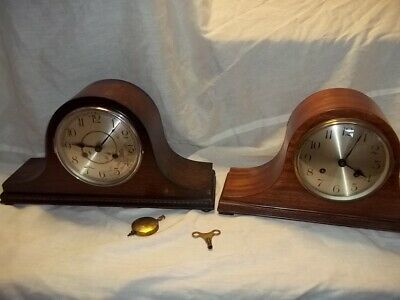two striking nap hat clocks