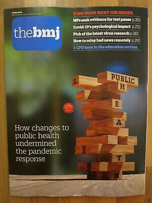 The British Medical Journal bmj 23 May 2020. New Copy.