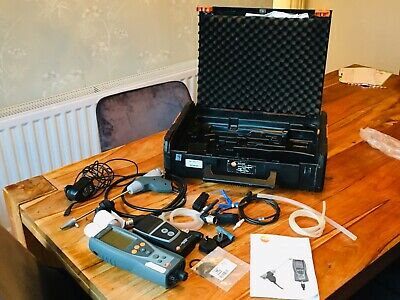 Testo 327-1 Flue Gas Analyser Kit And Printer with charger.